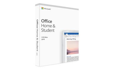 Office Home & Student 2019<br>Word Excel PowerPoint<br>One-time Purchase<br>1 User