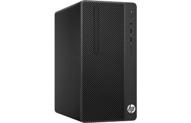 HP 290 G3<br>iP-G5420 4GB DDR4<br>500GB HDD DVD±RW<br>Intel UHD610 Graphics<br>Keyboard & Mouse<br>Windows 10 Pro