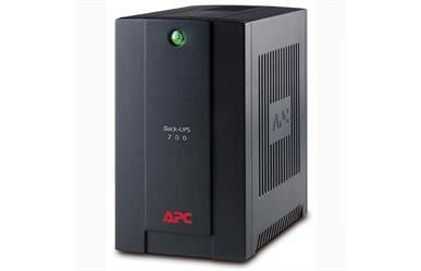 APC Back-UPS 700VA<br>Estimated Runtimes:<br>1 minute @ 390 Watts<br>9 minutes @ 195 Watts<br>Two Year Warranty