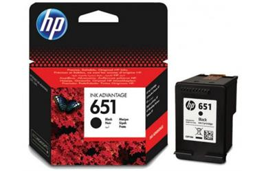 HP 651 Black Inkjet Print Cartridge