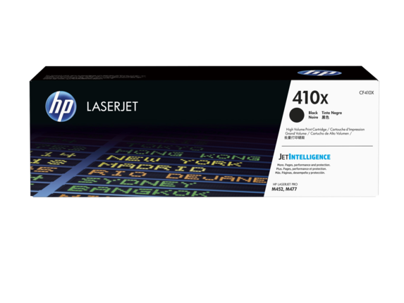 HP 410X Black Laserjet Toner<br>Cartridge