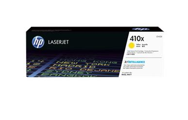 HP 410X Yellow Laserjet Toner<br>Cartridge