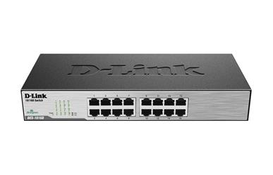 D-Link 16 Port 10/100 Unmanaged Switch