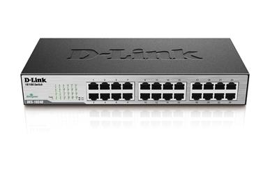 D-Link 24 Port 10/100 Unmanaged Switch