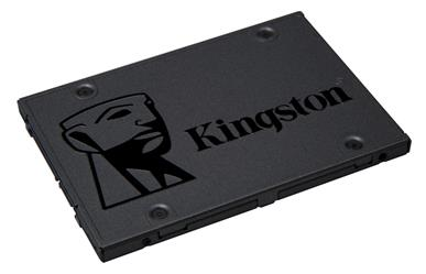 "Kingston A400<br>480GB 2.5"" SATA<br>Solid State Drive<br>3 Year Warranty"