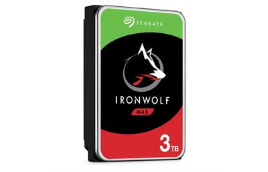 "IronWolf NAS HDD<br>3TB 5900RPM 64MB<br>SATA 3.5"" Disc Drive<br>Three Year Warranty"