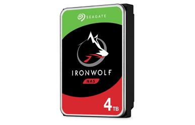 "IronWolf NAS HDD<br>4.0TB 5900RPM 64MB<br>SATA 3.5"" Disc Drive<br>Three Year Warranty"