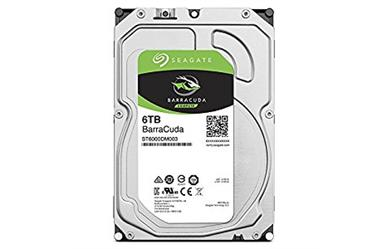 "Seagate Barracuda<br>6.0TB 5400RPM 256MB<br>SATA 3.5"" Disc Drive<br>Two Year Warranty"